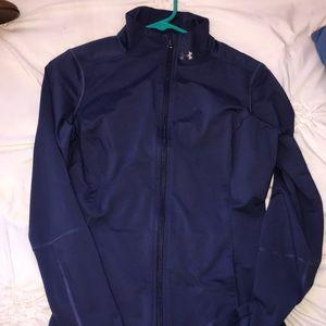Blue under armor jacket